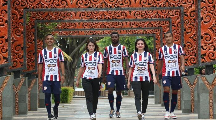 PSG Pati merilis jersey kandang, Minggu (11/4/2021).