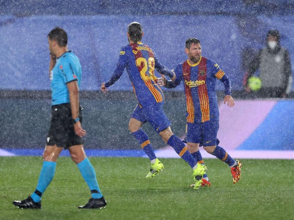 Setelah 19 Laga, Barcelona Kalah Juga