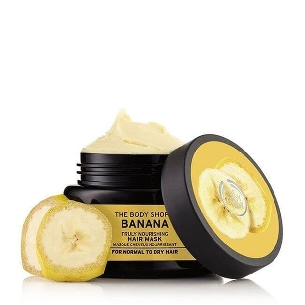 The Body Shop Banana Truly Nourishing Hair Mask/thebodyshop.com