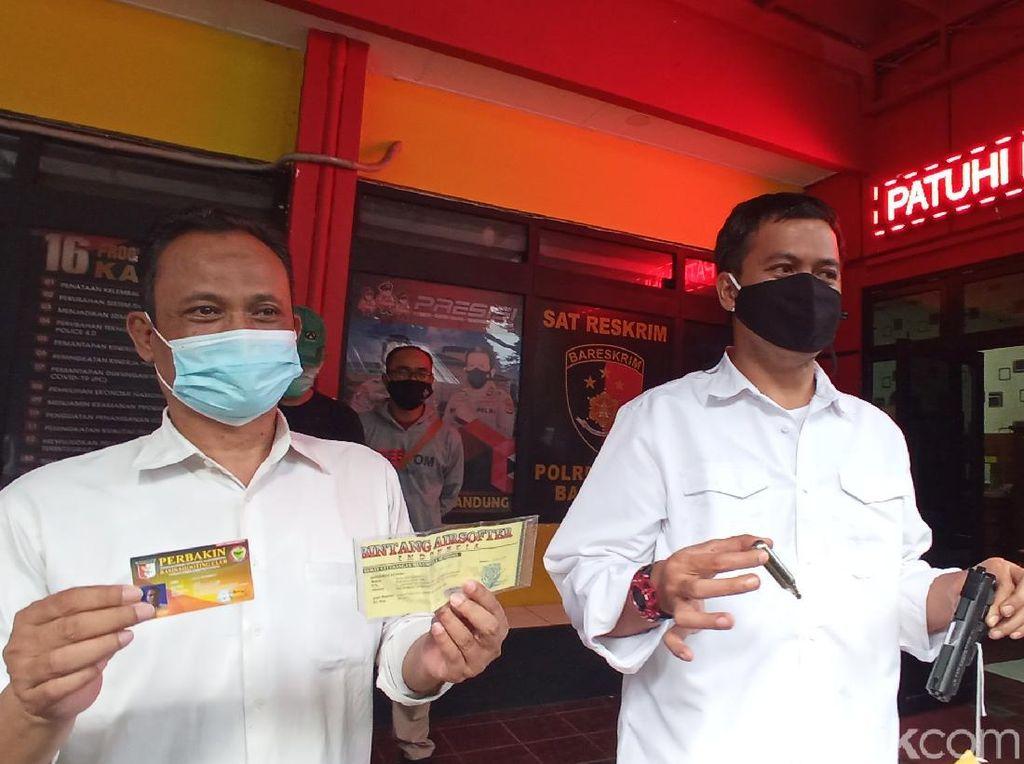 Viral Aksi Koboi Pria di Bandung Tembakkan Airsoft Gun ke Udara