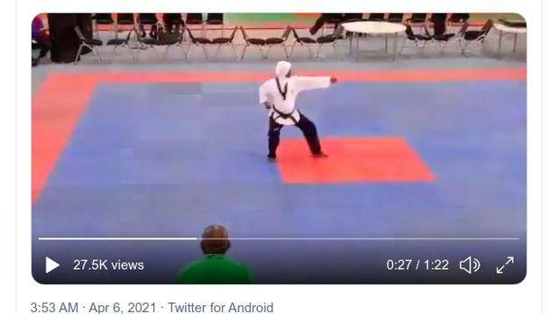Atlet Taekwondo Nigeria hamil