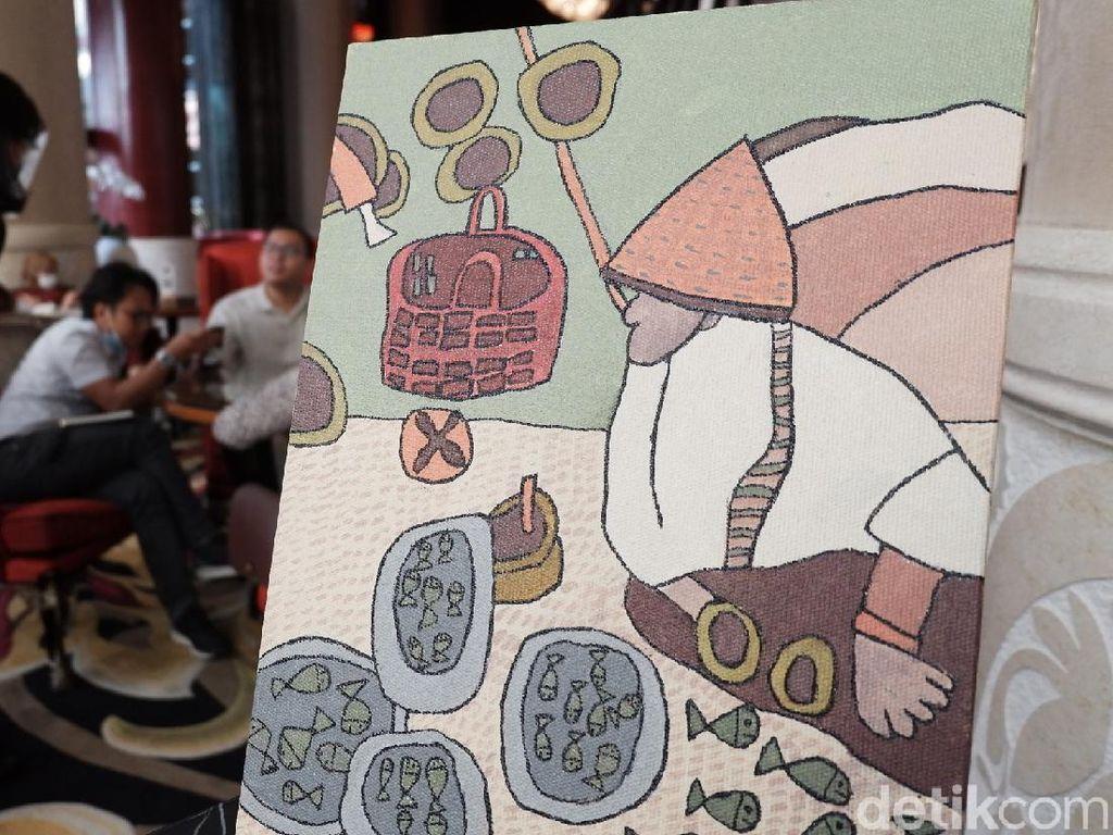 Melihat Hasil Karya Anak Berkebutuhan Khusus di Hotel Trans Bandung