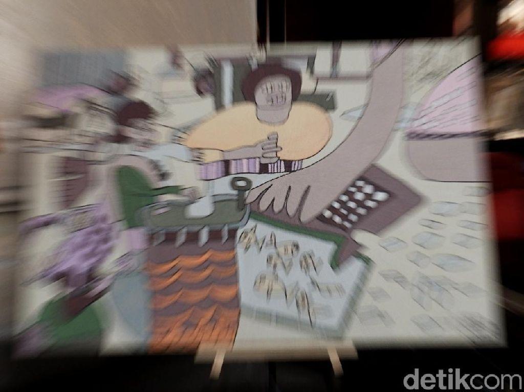 Deretan Karya Seni Keren Anak Berkebutuhan Khusus di Bandung