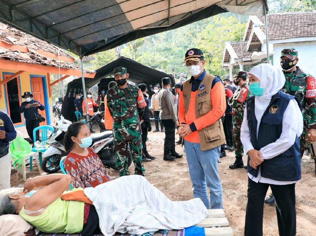 792 Jiwa Mengungsi di Tiga Kecamatan Dampak Gempa Malang