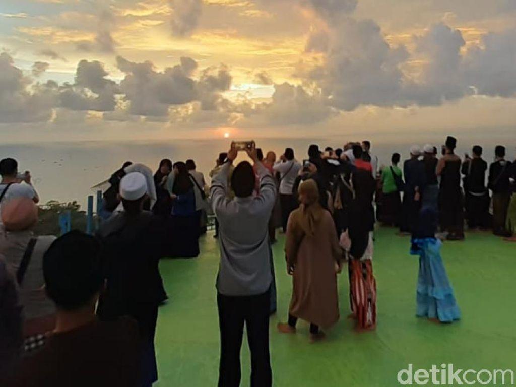 Alhamdulillah, Hilal Terlihat di POB Cibeas Kabupaten Sukabumi