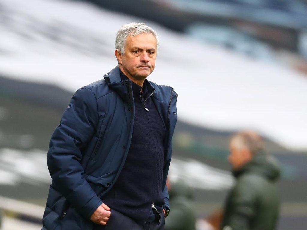 Musim Terburuk dalam Karier Jose Mourinho