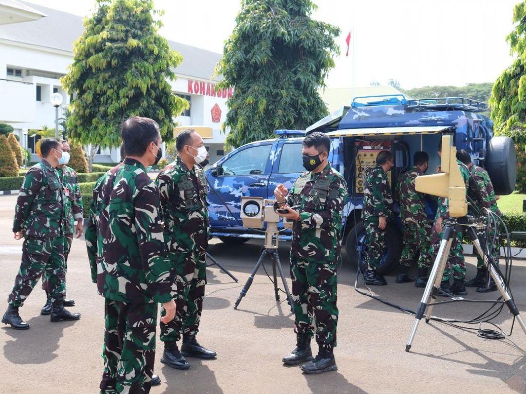 Begini Cara Kerja Alat Antidrone Milik TNI AU
