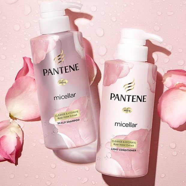 pantene micellar cleanse and hydrate