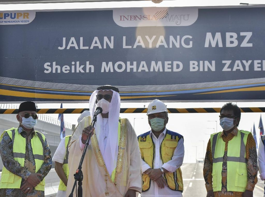 Tengok Mesranya Mohamed Bin Zayed dengan RI hingga Jadi Nama Jalan Tol
