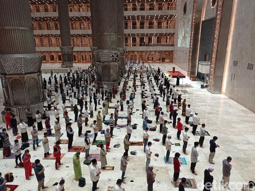 Batal Gelar Salat Id, Masjid Istiqlal: Tarawih-Salat Jumat Tetap Ada