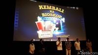 Kampanye Kembali ke Bioskop Diluncurkan, Sandiaga: Kami Dukung
