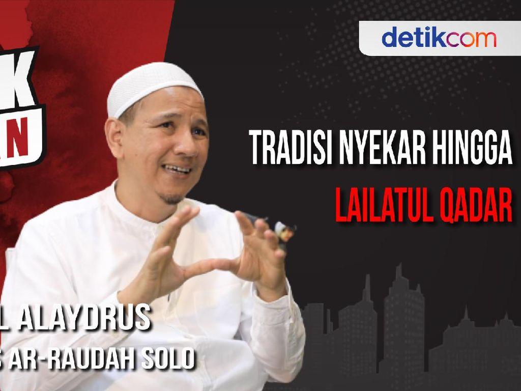 Blak-blakan Habib Novel Alaydrus, Tradisi Nyekar Hingga Lailatul Qadar