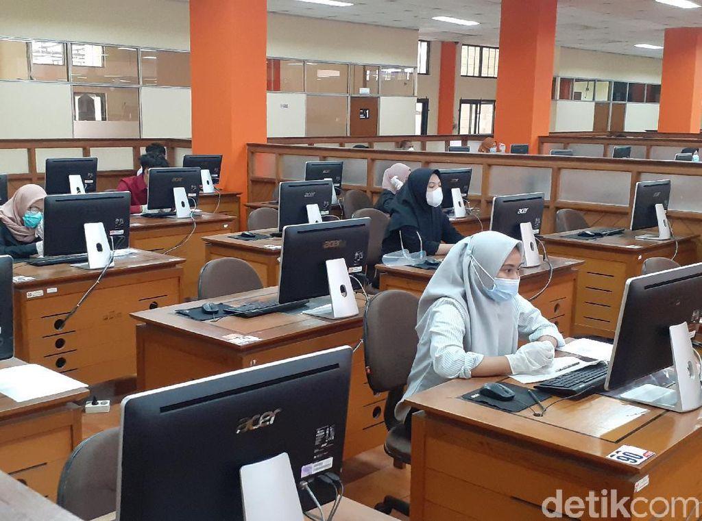 Ribuan Peserta Gugur di UTBK Gelombang I IPB, UI, dan UPN Veteran Jakarta