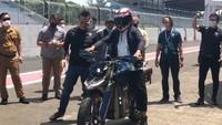 Jajal Motor Listrik Adventure, Wagub Jabar: Ngageleser Seperti Naik Sepeda