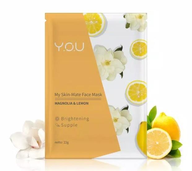 You My Skin Mate Face Mask Magnolia & Lemon
