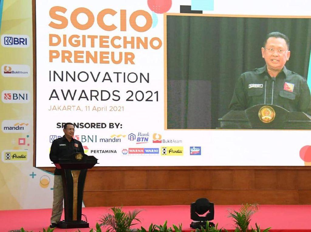 Bamsoet Harap Startup Jadi Gerbang Ekspor Produk UMKM Indonesia