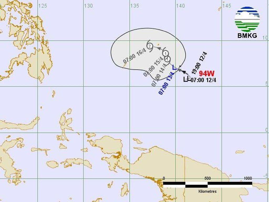 BMKG: Waspada, Jangan Anggap Sepele Bibit Siklon Tropis 94W!
