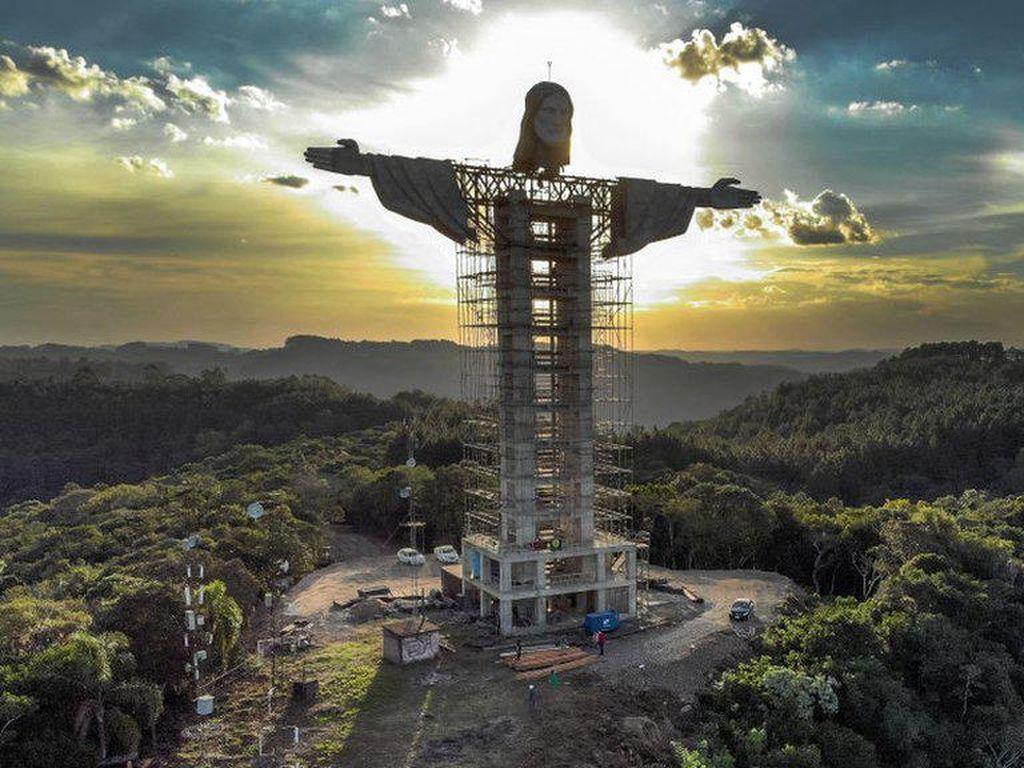 Brasil Bangun Patung Raksasa Yesus Baru, Lebih Tinggi dari di Rio de Janeiro