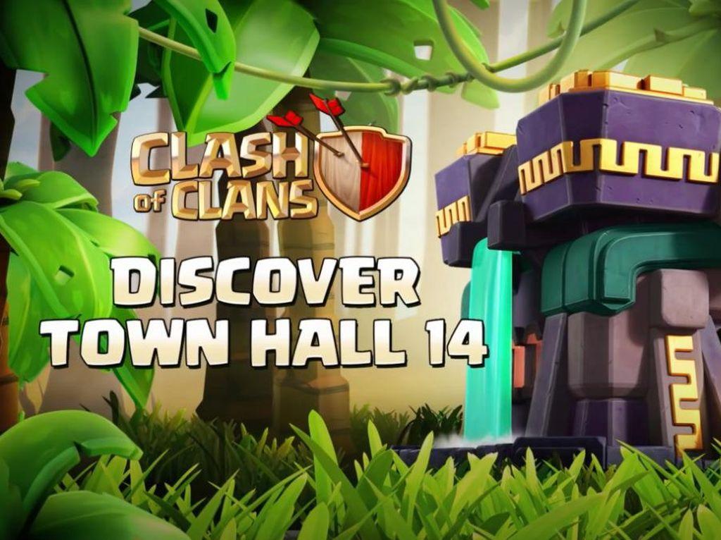 Clash of Clans Diperbarui, Town Hall Bisa Ditingkatkan ke Level 14