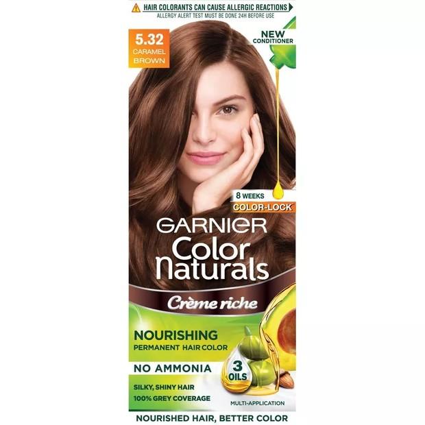 Garnier Color Naturals mengandung tiga minyak alami /shoope.co.id