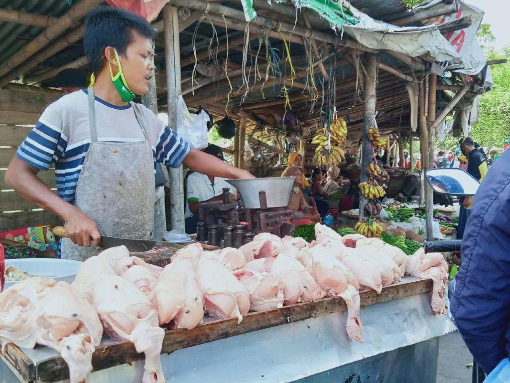 Hari Pertama Puasa, Harga Daging Ayam Naik Jadi Rp 42.000