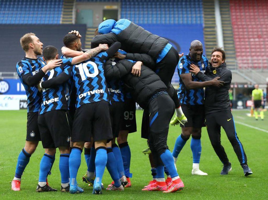 Suning Lagi Bokek, Pemain Inter Milan Tak Akan Dapat Bonus Scudetto