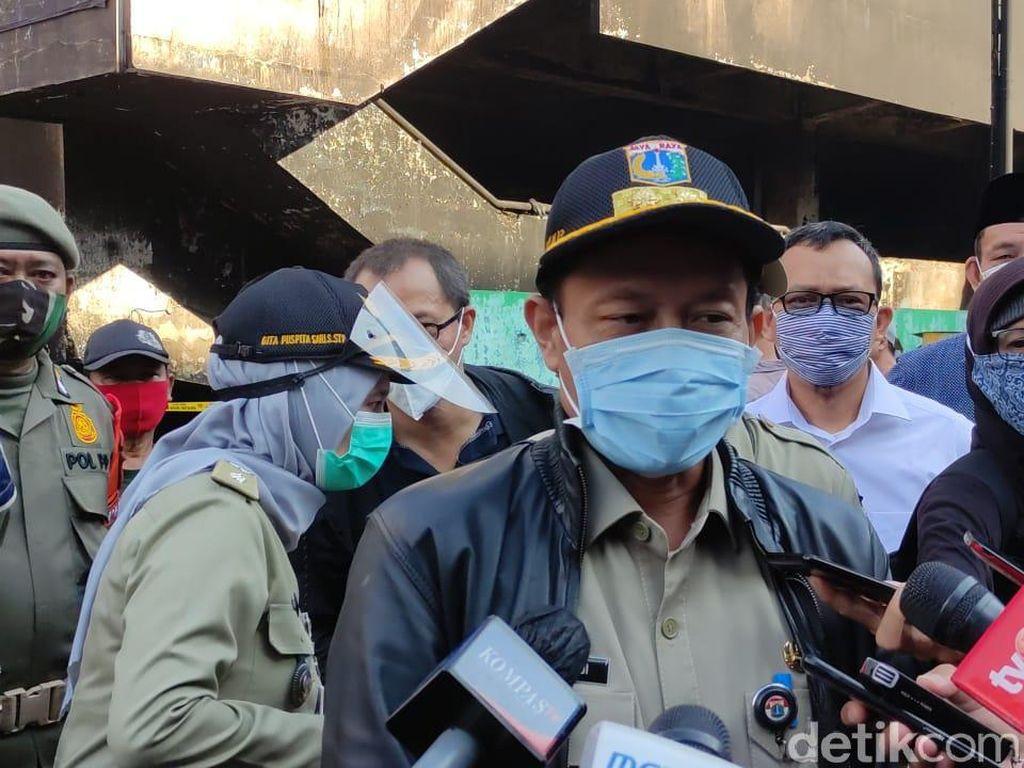 Imbas Kebakaran Hebat di Pasar Inpres Pasar Minggu, Pedagang Direlokasi