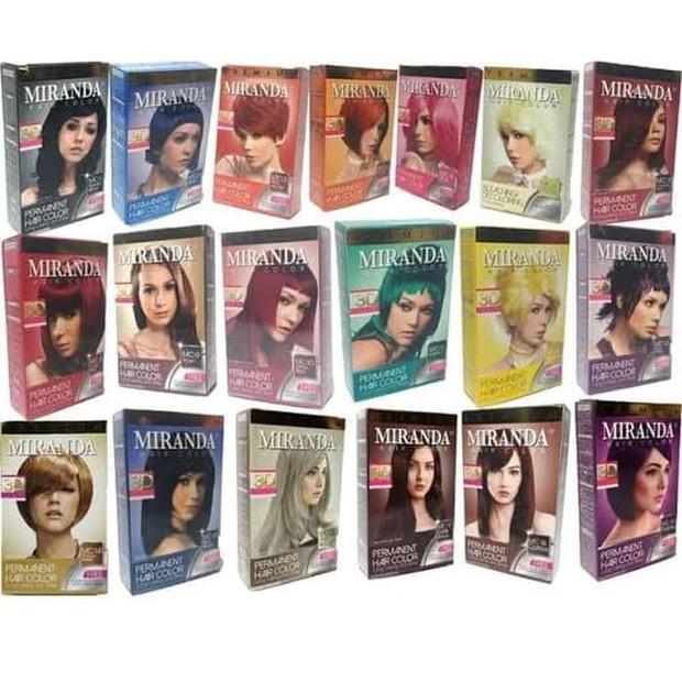 Miranda Hair Color mengandung ekstrak kondisioner /tokopedia.com