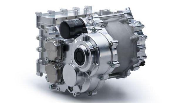Motor listrik 350 kW buatan Yamaha untuk mobil listrik.