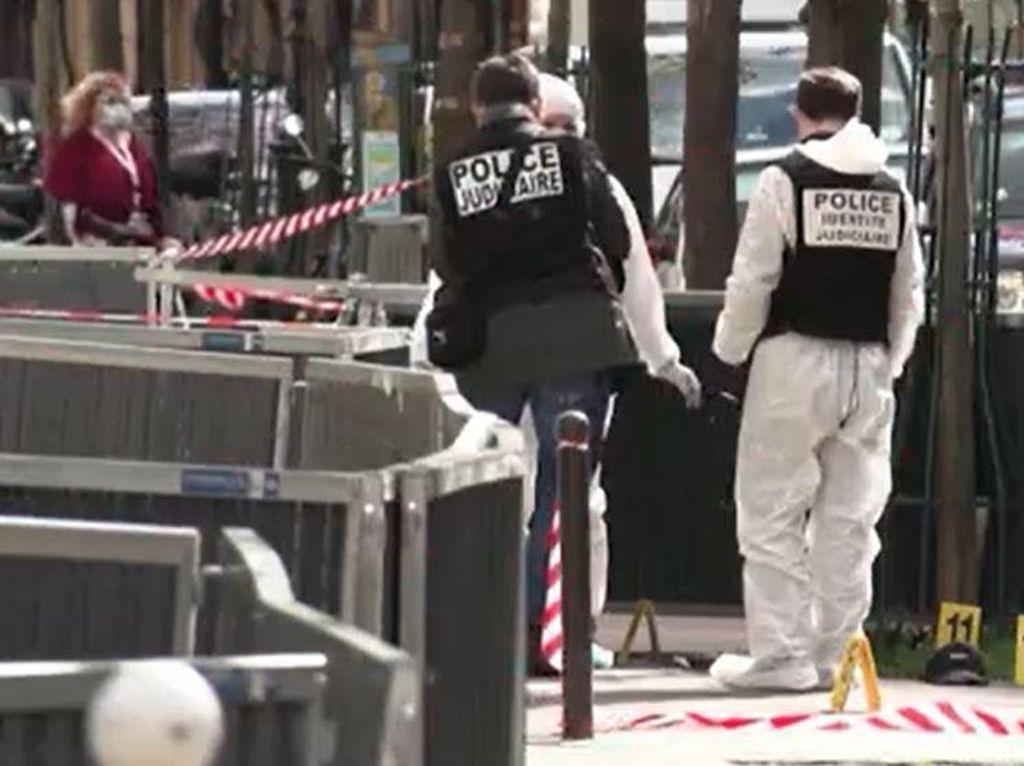 Penembakan di Depan Pusat Vaksinasi Covid-19 Paris, 1 Tewas