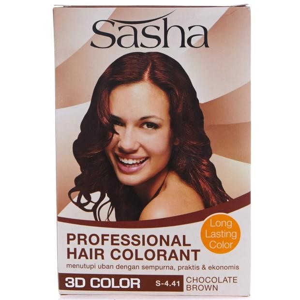 Sasha Professional Hair Colorant hadir dengan pilihan warna beragam/shoope.co.id