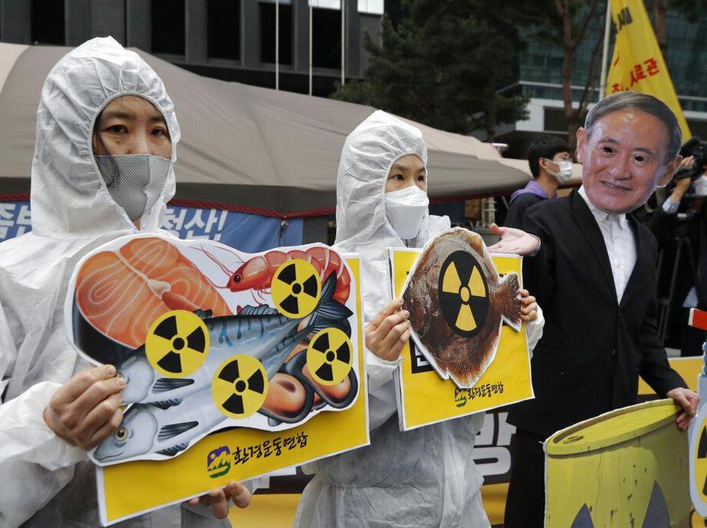 Negara Tetangga Tolak Rencana Air Limbah Fukusima Dibuang ke Laut