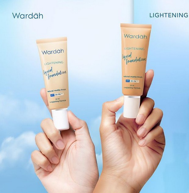 wardah lightening liquid foundation