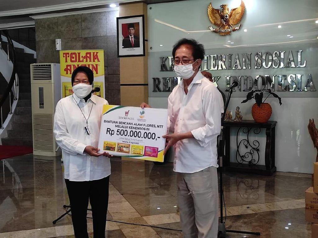 Lewat Kemensos, Sido Muncul Donasi Rp 500 Juta untuk Korban Banjir NTT