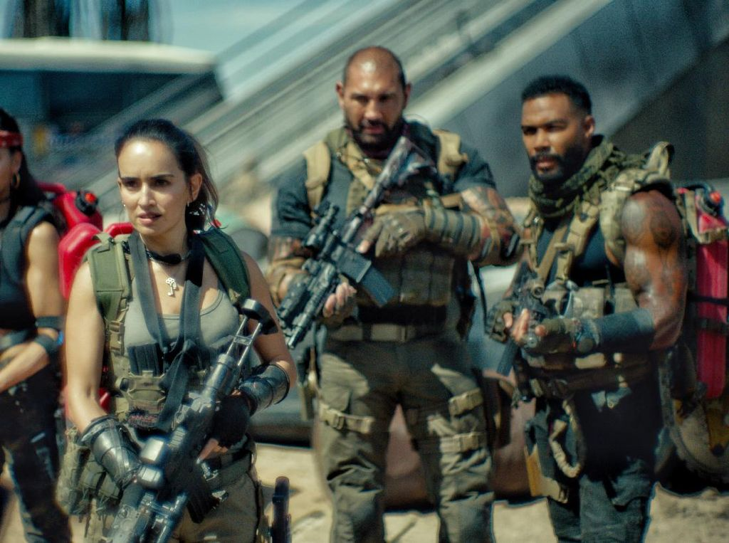 Zack Snyder Bawa Pasukan Zombie dalam Army of The Dead