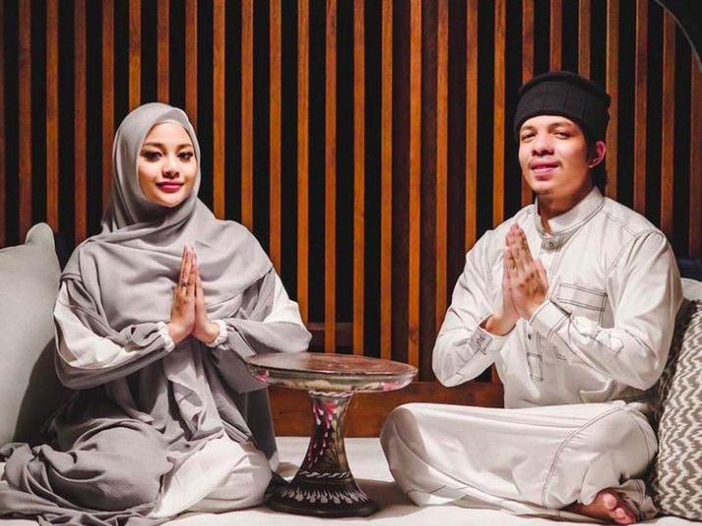 Aurel Berhijab saat Ramadhan, Atta Ngarep Selamanya Tapi...