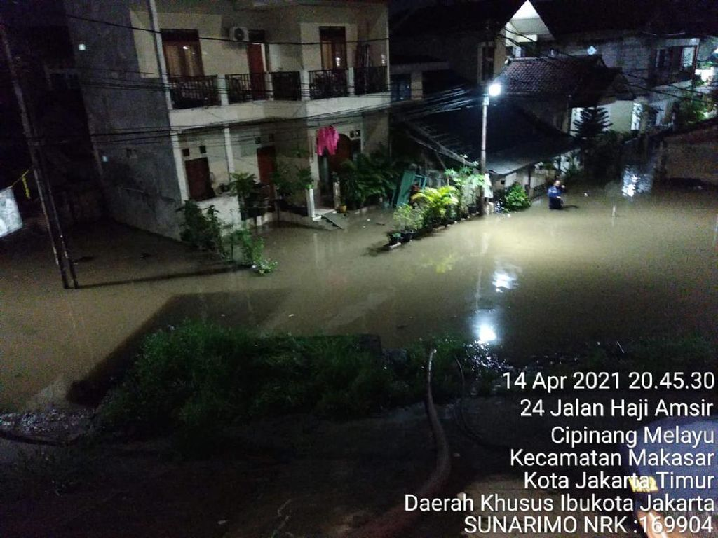10 RT di Cipinang Melayu Jaktim Terdampak Banjir, 25 KK Sempat Mengungsi