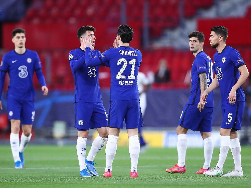 Liverpool atau Real Madrid? Chelsea sama Siapa Saja Ayo!