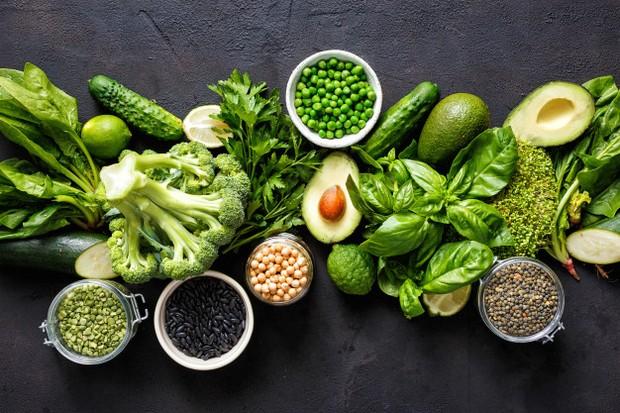 Konsumsi biji-bijian serta sayur dan buah