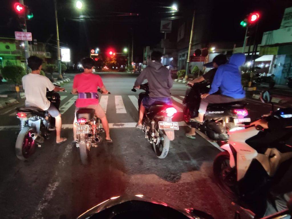 Viral Kelompok ABG Kebut-kebutan di Jalan Utama Klaten, Polisi Turun Tangan