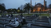 Setahun Hagia Sophia Jadi Masjid Lagi, Presiden Erdogan Ucap Ini di Sosmed