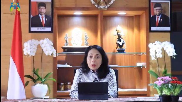 Menteri Pemberdayaan Perempuan dan Perlindungan Anak (PPPA) Bintang Puspayoga
