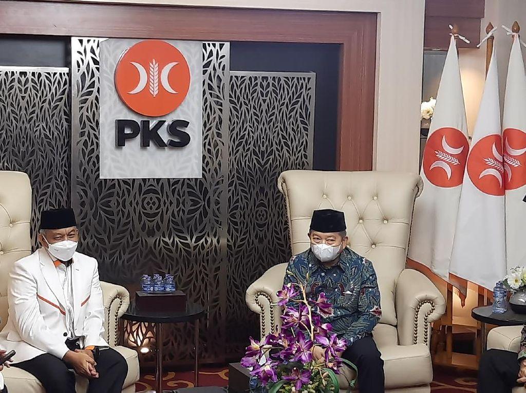 Petinggi PPP Sambangi Kantor DPP PKS, Bahas Apa?