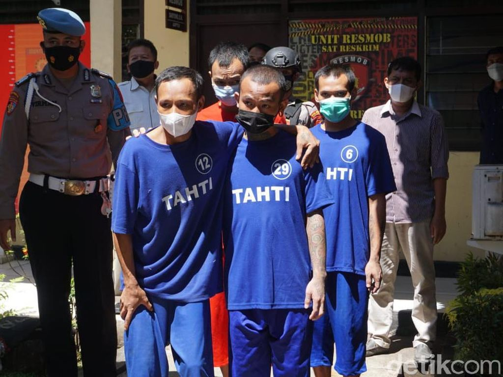 5 Tahanan yang Kabur Bobol Kamar Mandi Polres Purbalingga Ditangkap