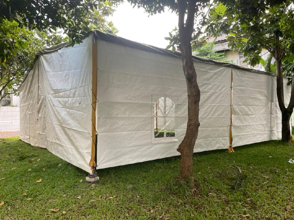 Panitia Jawab Somasi yang Minta Tenda Masjid di TVM Dibongkar