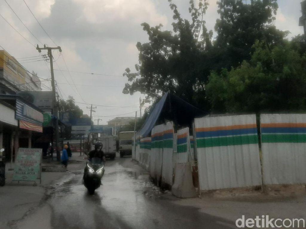 Warga Keluhkan Proyek IPAL di Pekanbaru, Bikin Jalanan Rusak-Macet