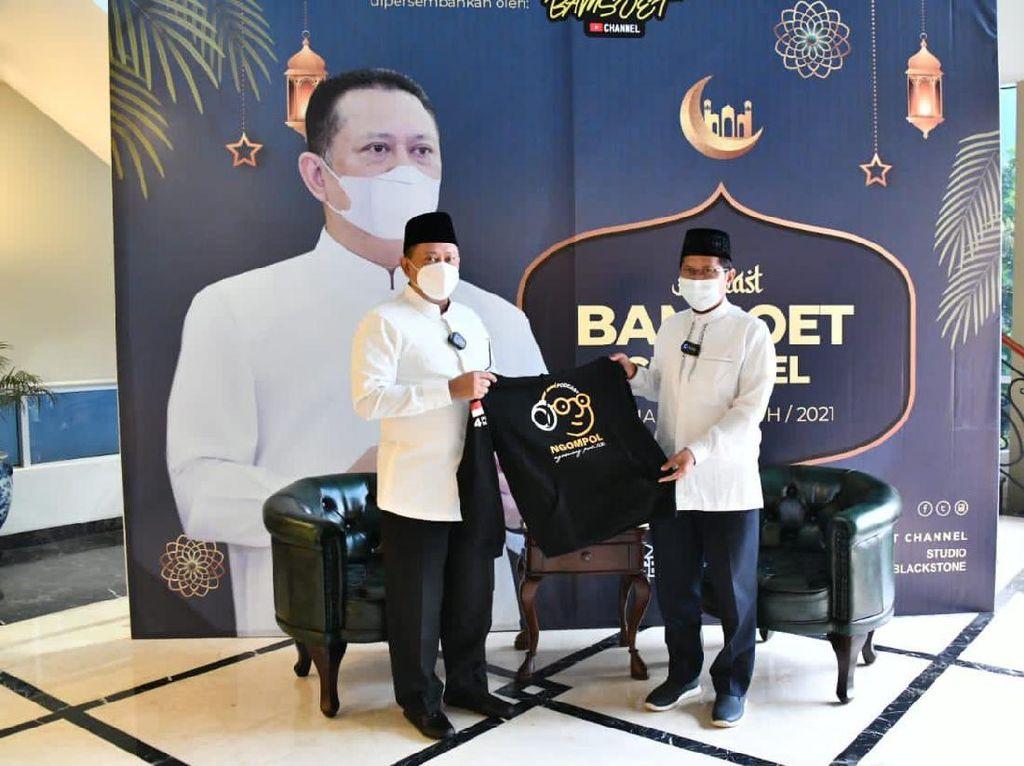 Bamsoet Ajak KH Cholil Nafis Bedah Panduan Puasa Ramadhan Saat Pandemi