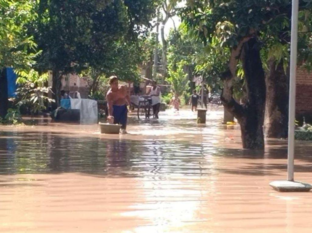 Banjir Madiun Landa 21 Desa, Puluhan Warga Mengungsi