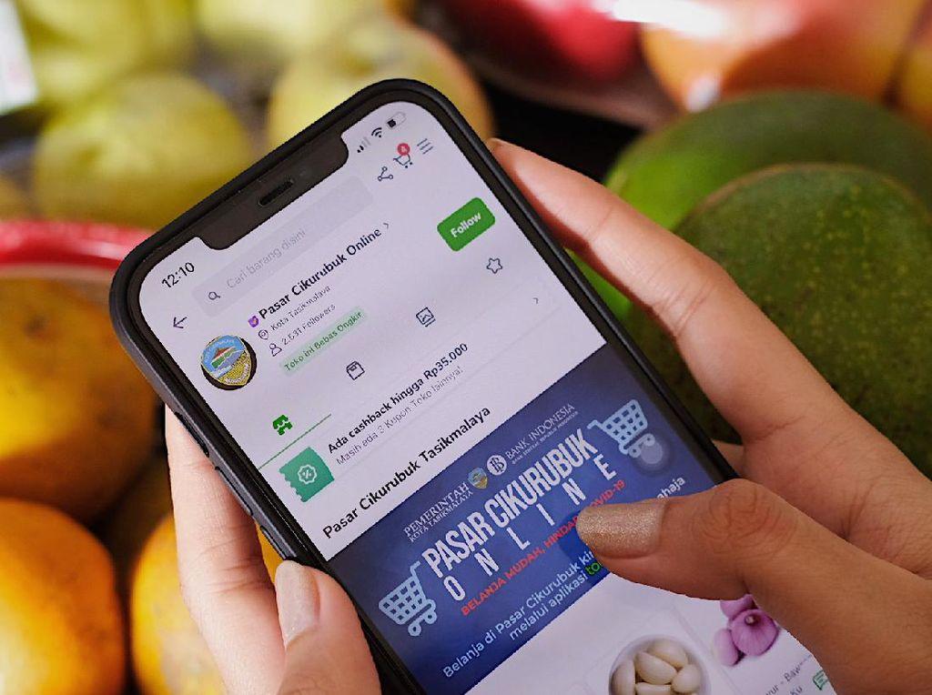 2 Pasar Tradisional di Jabar Naik Kelas Usai Rambah Digital