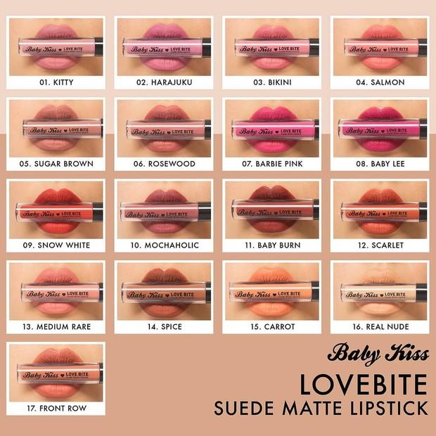 Matte lip cream Baby Kiss/instagram.com/babykissthailand